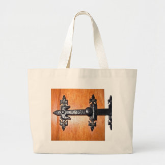 Old Fashioned Door Handle Canvas Bags
