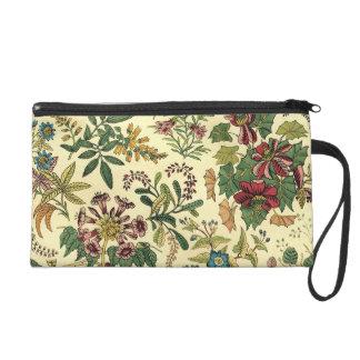 Old Fashioned Floral Abundance Wristlet