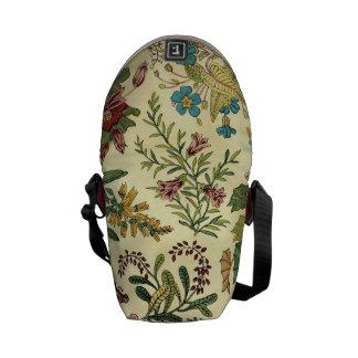 Old Fashioned Floral Abundance Messenger Bag
