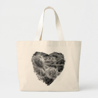 Old Fashioned Flowers; Customizable Tote Bags