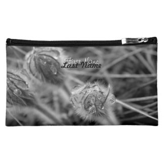 Old Fashioned Flowers; Customizable Makeup Bag