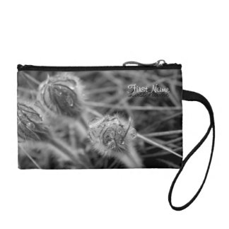 Old Fashioned Flowers; Customizable Change Purses