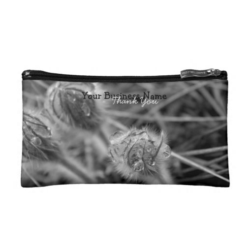 Old Fashioned Flowers; Promotional Makeup Bag