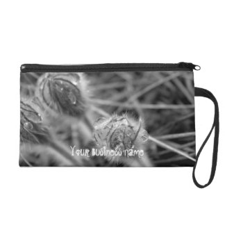 Old Fashioned Flowers Promotional Wristlet Clutches