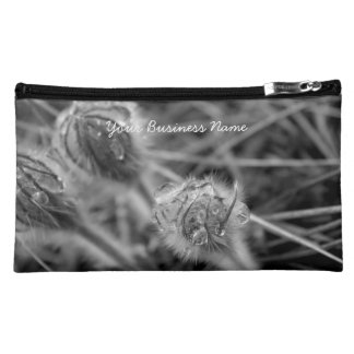 Old Fashioned Flowers; Promotional Cosmetics Bags