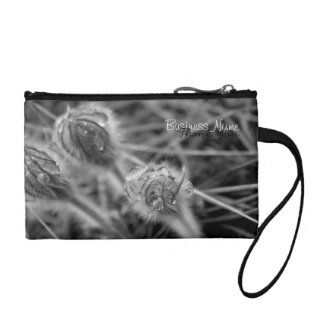 Old Fashioned Flowers; Promotional Coin Wallets