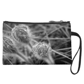 Old Fashioned Flowers Promotional Wristlet Clutch