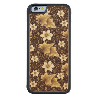 Old-Fashioned Flowers Maple iPhone 6 Bumper