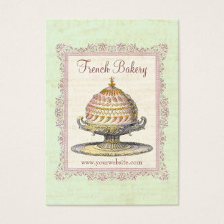 Old Fashioned French Bakery Vintage Business Card