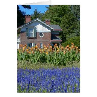 Old Fashioned Garden (Vanderbilt Mansion)--Card Card