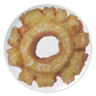 Old Fashioned Glazed Donuts Plate