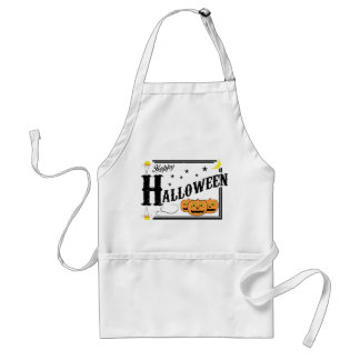 Old Fashioned Halloween Apron