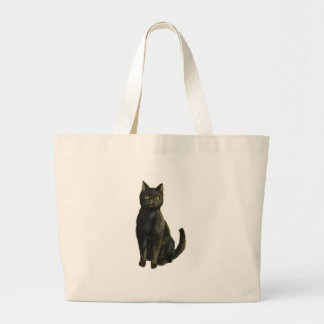 Old Fashioned Halloween Black Cat Bags