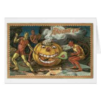 Old-fashioned Halloween, Devils Card