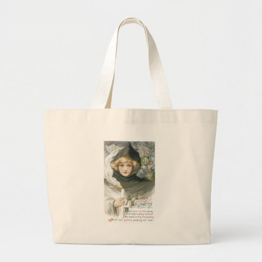 Old Fashioned Halloween Goblin Tale Tote Bag