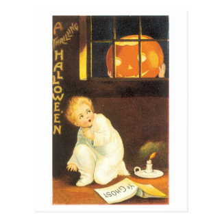 Old-fashioned Halloween Postcard