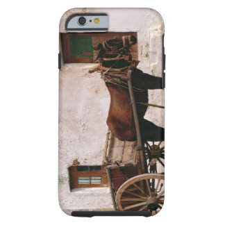 Old-fashioned horse-drawn cart tough iPhone 6 case