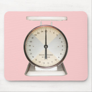 Old-Fashioned Household Scale Mousepads