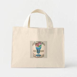 Old Fashioned Ice Cream Mini Tote Bag