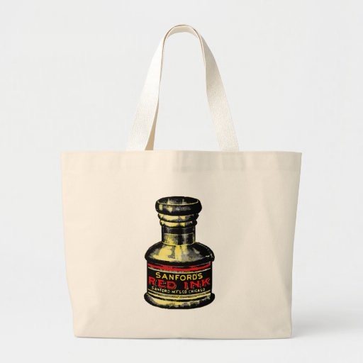 Old Fashioned Inkwell Tote Bags