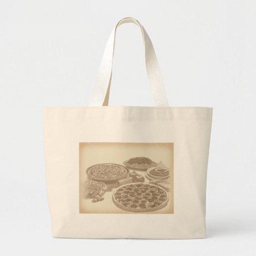 Old Fashioned Italian Food Tote Bags