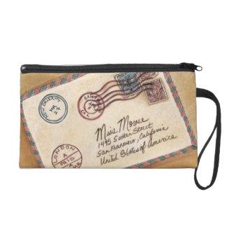 Old Fashioned Letter Wristlet