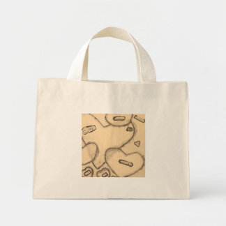 old-fashioned love mini tote bag