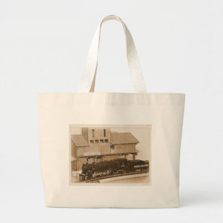 Old Fashioned Model Train Photo Tote Bags