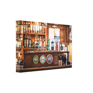 Old Fashioned Pub Canvas Print