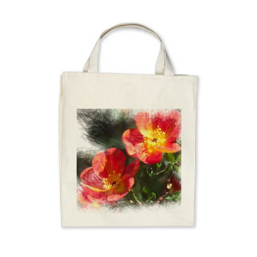 Old-fashioned rose tote bag
