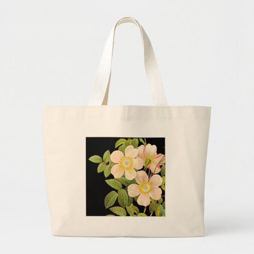 Old Fashioned Roses Canvas Bag