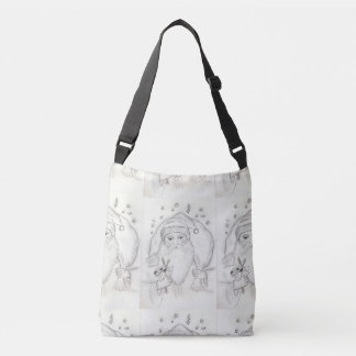 Old Fashioned Santa Crossbody Bag