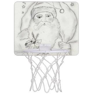 Old Fashioned Santa Mini Basketball Hoop