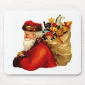 Old Fashioned Santa Mouse Pad