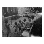 Old fashioned summer picnic fun