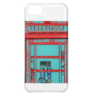 Old Fashioned Telephone Booth iPhone 5C Cases