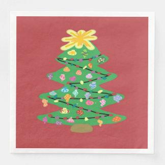 Old Fashioned Tree Paper Napkin