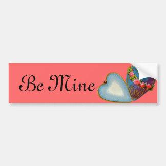 Old Fashioned Valentine Bumper Sticker