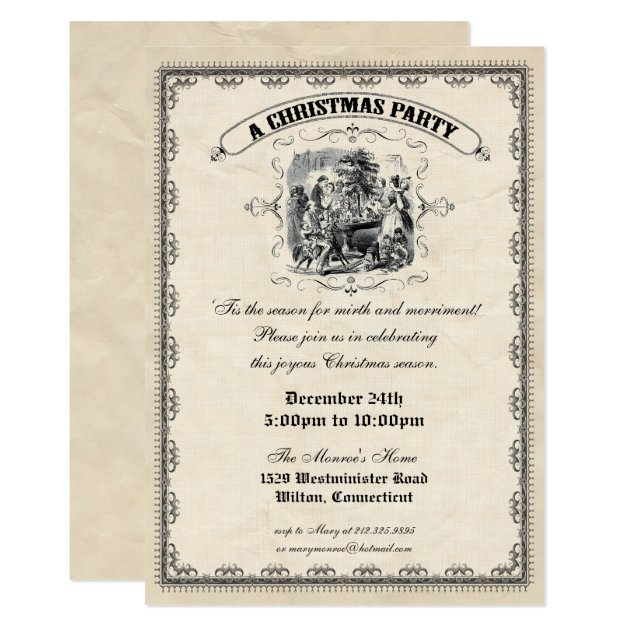 Change Of Address Christmas Greeting Cards