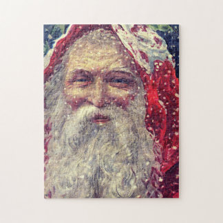 Old-fashioned Victorian Saint Nicholas Jigsaw Puzzle