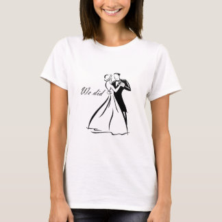 Old Fashioned Wedding Couple dancing T-Shirt