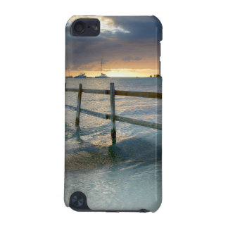 Old fence running into the ocean iPod touch (5th generation) cover