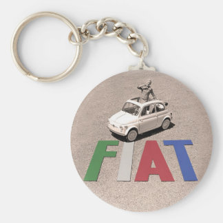 old fiat key ring
