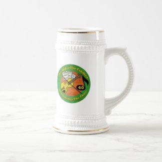 Old Fiddler 40th Birthday Gifts Beer Steins