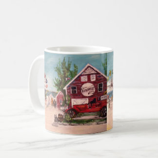 Old Firehouse, Geneva Painting on Mug