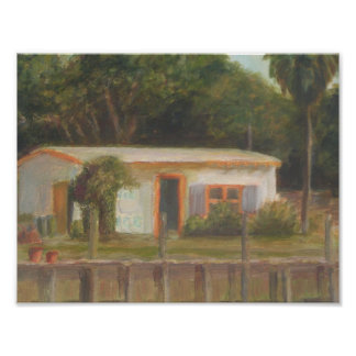 OLD FLORIDA FISH CAMP Poster