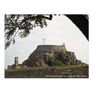 Old Fortress in Corfu Postcard
