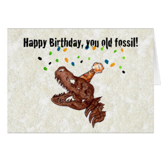Old Fossil Card