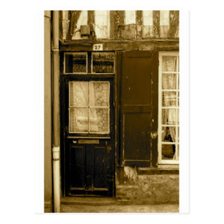 Old French Door Postcard