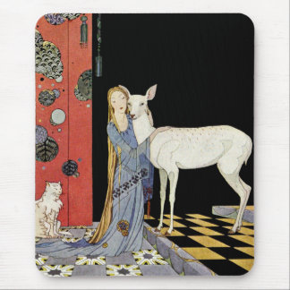 Old French Fairy Tales: Bonne-Biche Mouse Pad